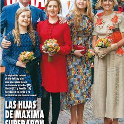 LAS HIJAS DE MAXIMA SUPERARON A SU MADRE