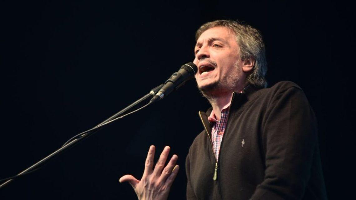 Máximo Kirchner.