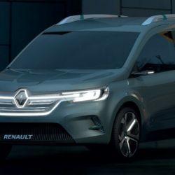 Showcar Renault Kangoo Z.E. Concept.