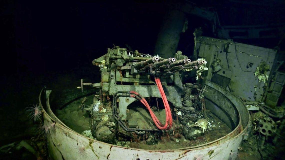 Gracias al uso de drones submarinos encuentran un portaaviones hundido