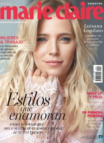 Luisana Lopilato en el tercer número de Marie Claire Argentina