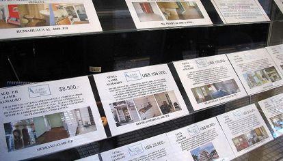 Caida de las venta en inmobiliarias.