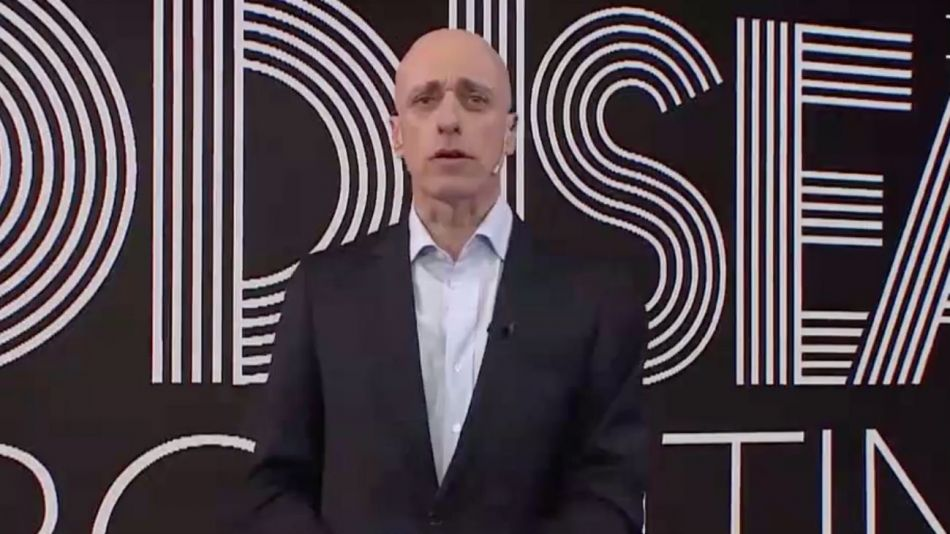 """Carlos Pagni en """"Odisea Argentina""""."""
