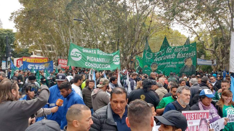 Imagenes del Paro Nacional 20190430