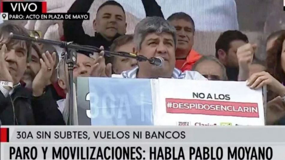 Pablo Moyano 20190430