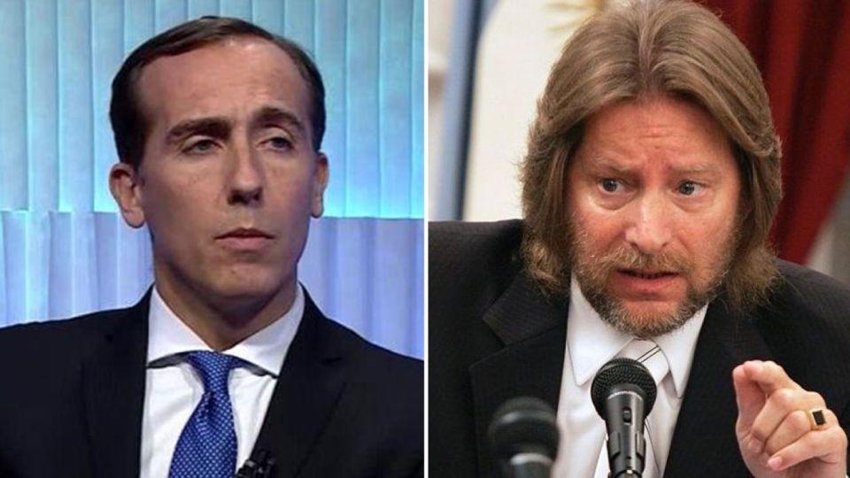 Hugo Alconada Mon y el ex juez Carlos Rozanski 20190430