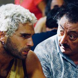Nico Furtado y Claudio Rissi en El Marginal
