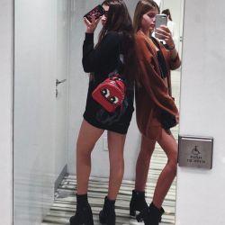 Victoria y Cristina Iglesias