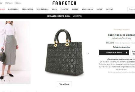 El bolso Lady Dior se hace enteramente a mano.