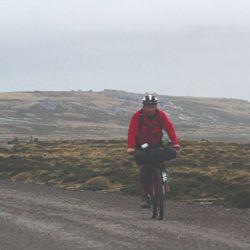 Los recorridos siempre fueron exigentes por los fuertes vientos.