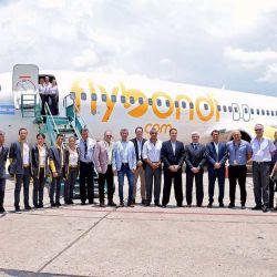 Vuelo inaugural de Flybondi a Salta.