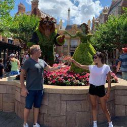 Barby Franco y Burlando en Disney 2019
