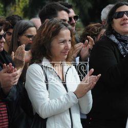 La actriz fue sepultada en el cementerio de la Chacarita