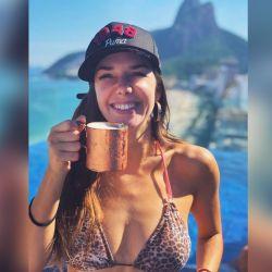 Julieta Nair Calvo en Brasil