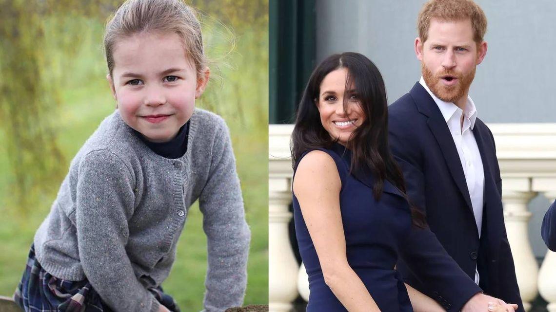 Harry y Meghan Markle enviaron un mensaje de cumpleaños a la Princesa Charlotte que despertó polémica