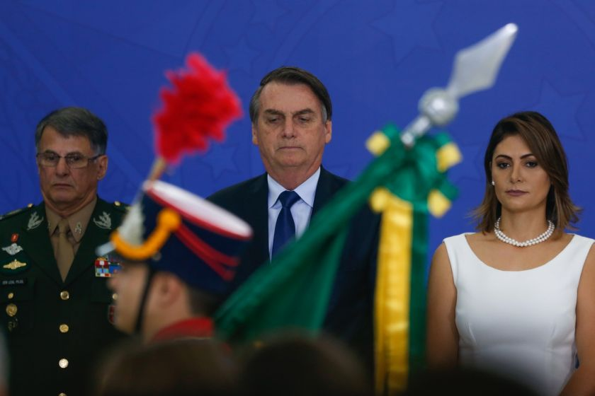 Jair Bolsonaro, rápido y furioso: