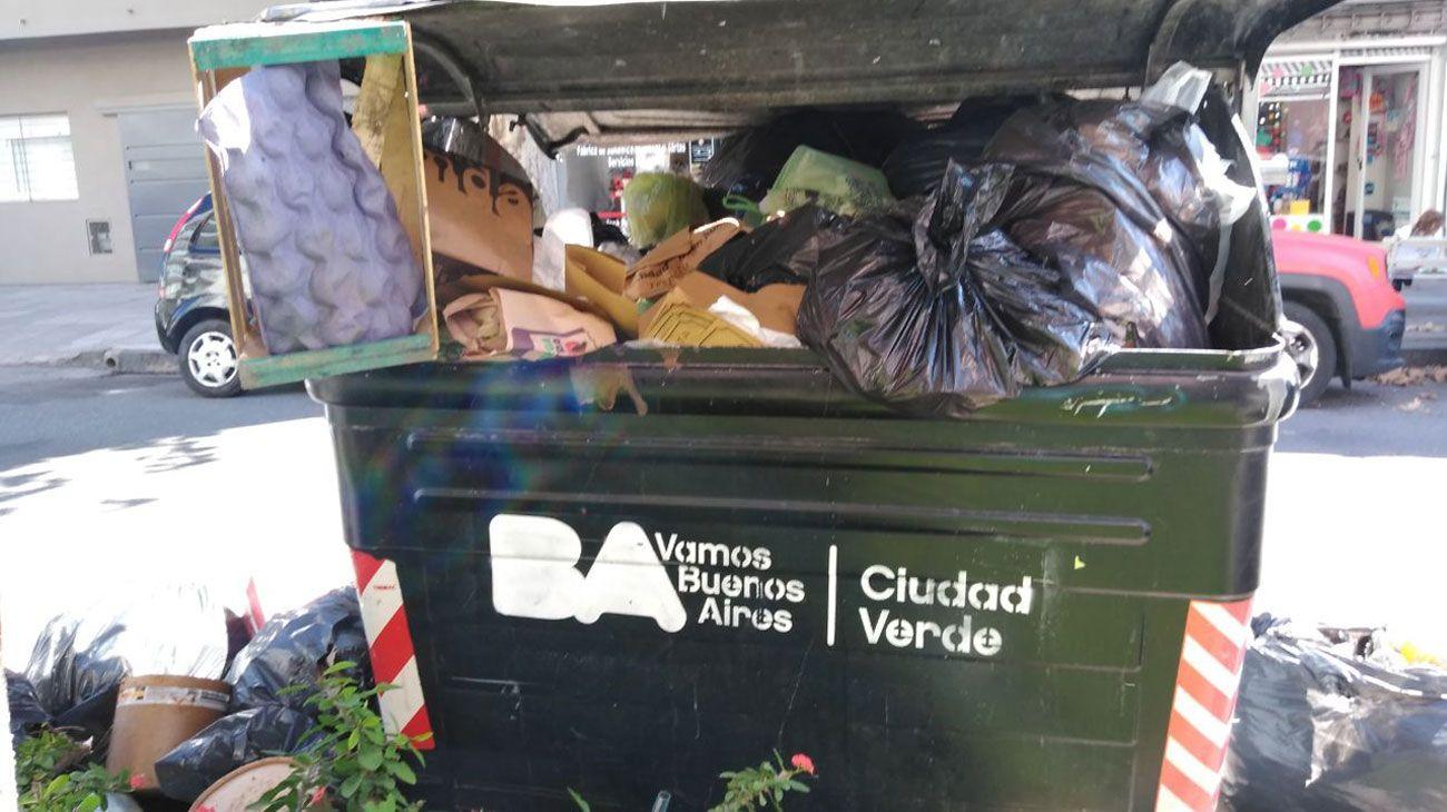 El Gobierno porteño acordó con Camioneros y se normaliza la recolección de residuos