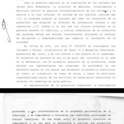 DDM fue denunciado en la Defensoría del Pueblo