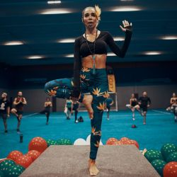 Yudy Arias, la influencer fitness que es famosa en Instagram.