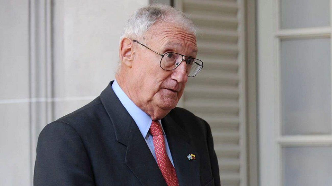 Martín Balza, ex jefe del ejército durante la década menemista.