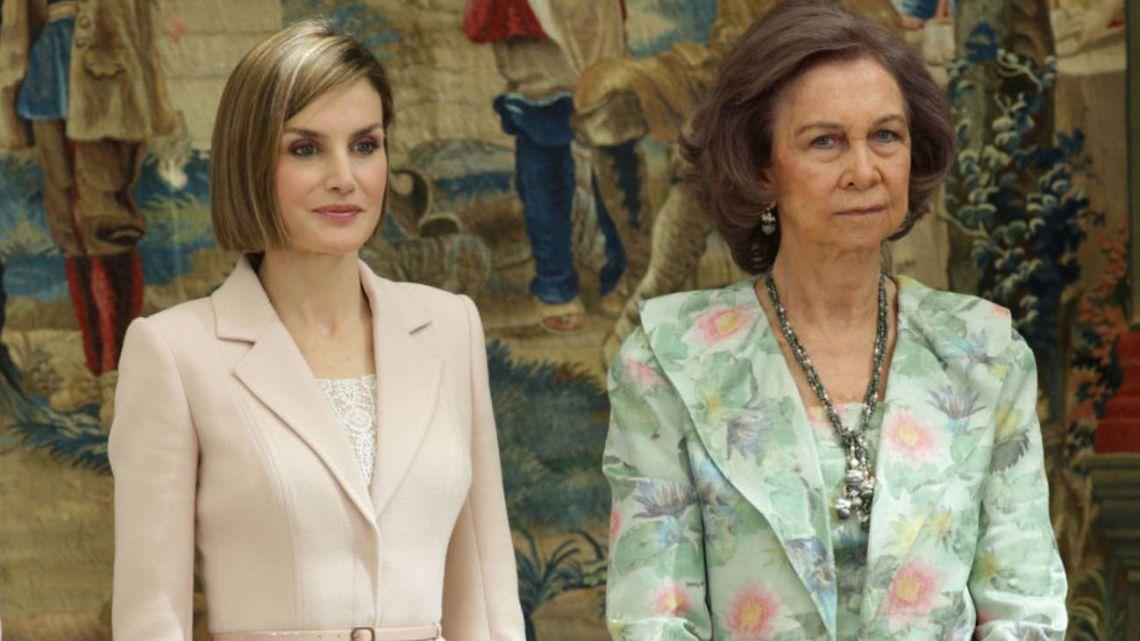Los disgustos cubrieron de canas a la ex reina Sofía