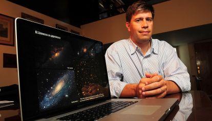 Experto. Entre cálculos y datos de observaciones, Matias Zaldarriaga intenta encontrar respuestas sobre los orígenes del Universo.