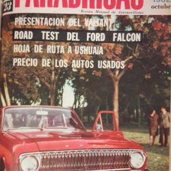 Revista Parabrisas octubre 1962