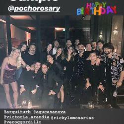 Cumpleaños 34 del Pocho Lavezzi