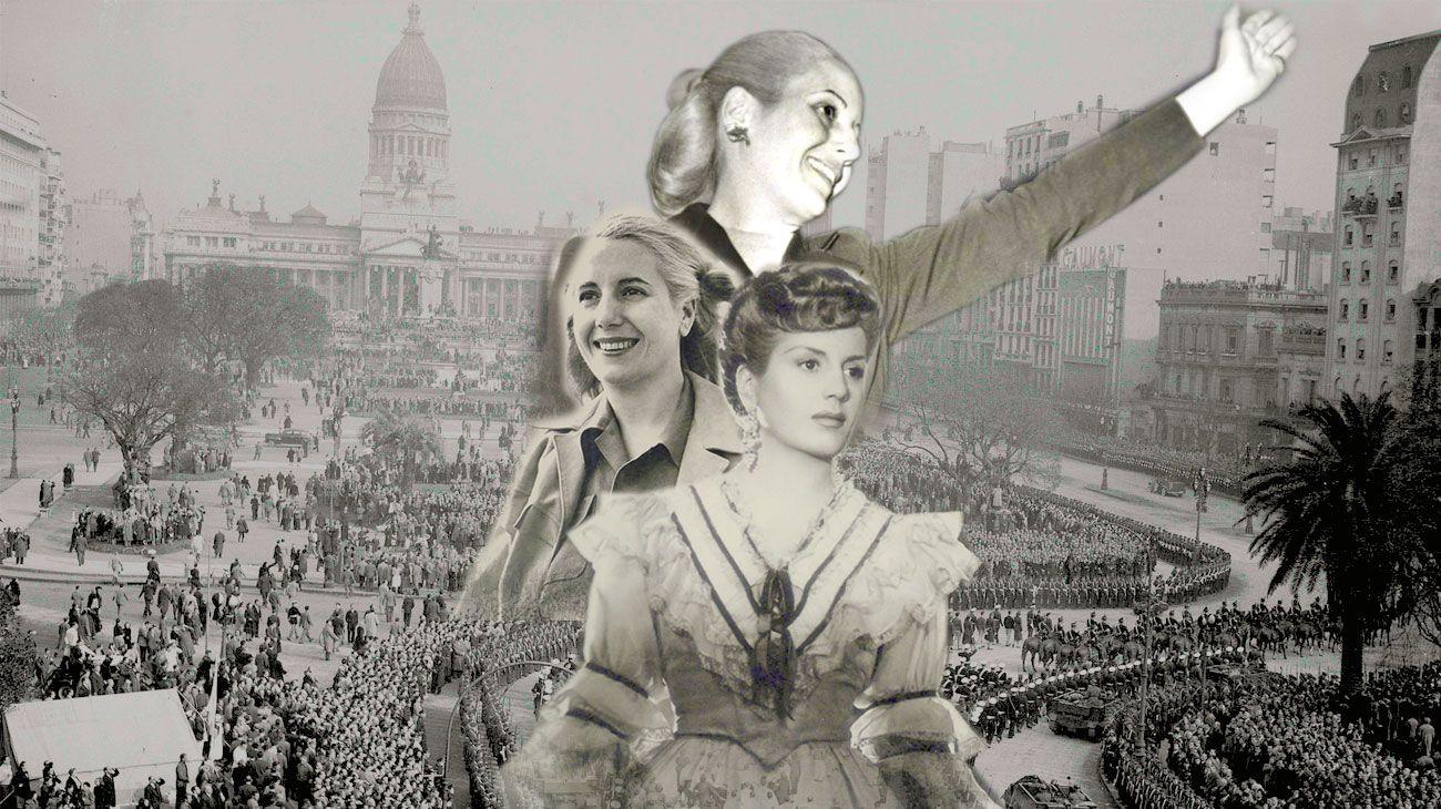 Se cumplen este 7 de mayo de 2019, el centenario de la muerte de de Eva Perón.