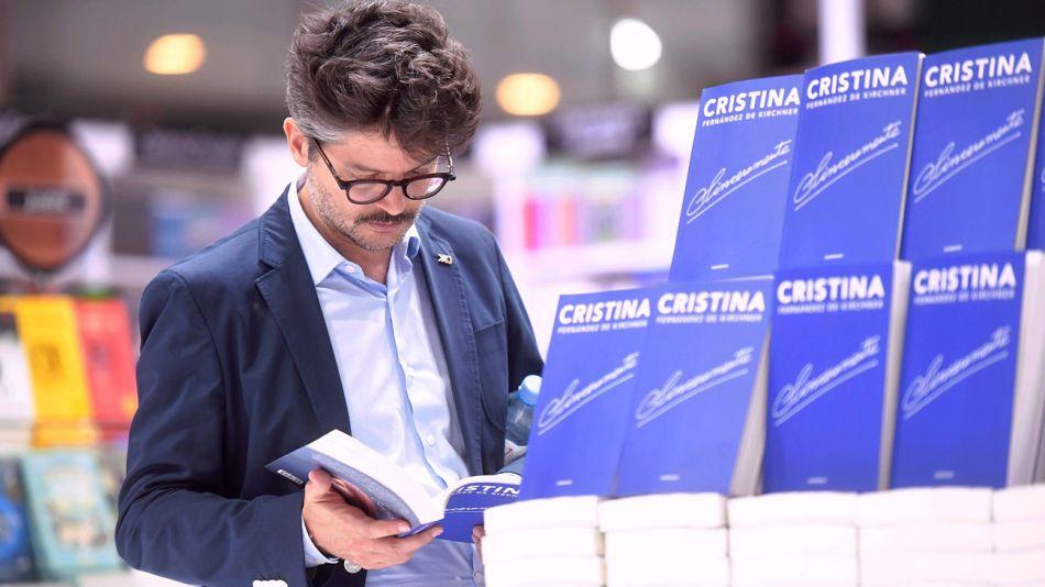 20190507 Libro Cristina Kirchner Sinceramente