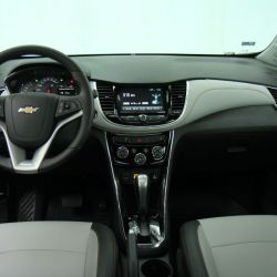 Interior Chevrolet Tracker actual