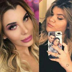 Morena Rial y Charlotte Caniggia