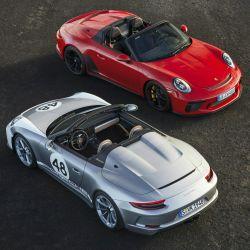 Porsche 911 Speedster y 911 Speedster con Heritage Design Package.