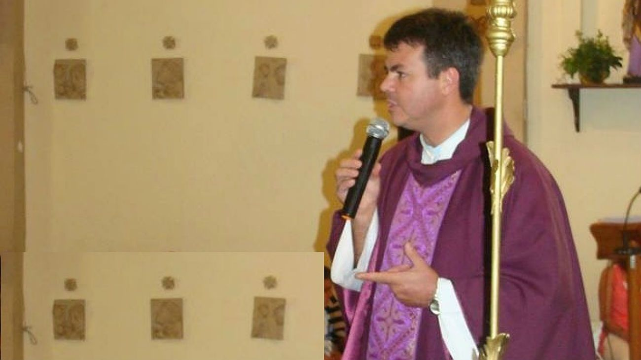 El sacerdote Tulio Matiussi fue detenido en diciembre pasado.