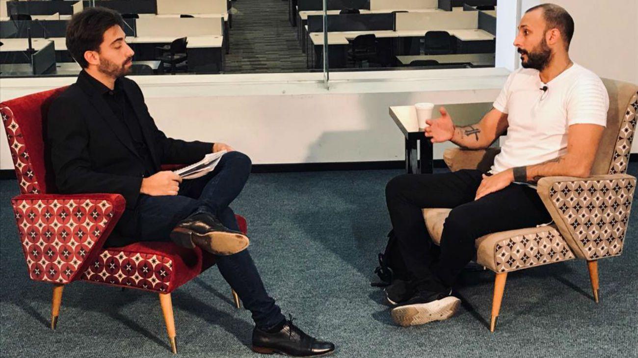 Leonardo Fariña fue entrevistado en Editorial Perfil.