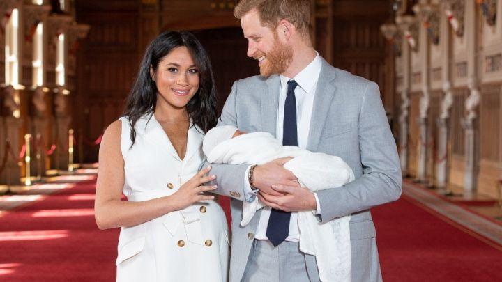 Revelan una foto inédita de Archie, el hijo del príncipe Harry y Meghan Markle