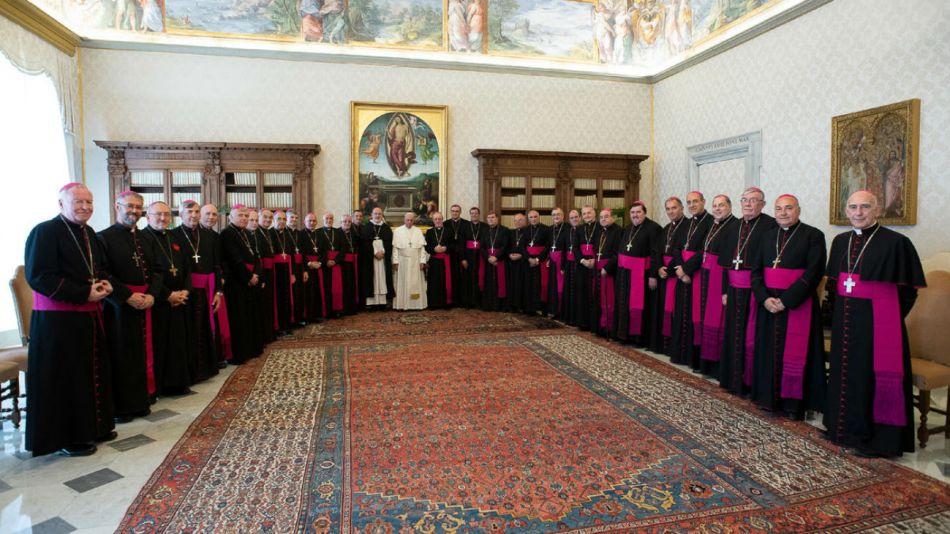 papa francisco obispos argentinos vaticano 20190508