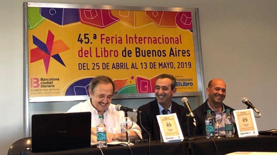 Ricardo Alfonsín Feria del Libro 2019