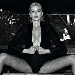 La actriz mostró su sensual figura