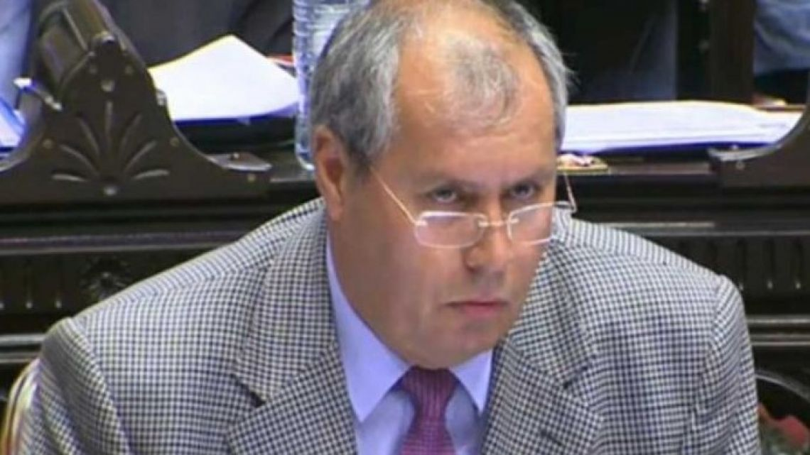 Lawmaker for La Rioja province Héctor Olivares.