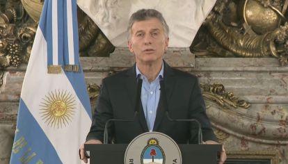 El Presidente Macri habla tras el ataque a tiros al Diputado Olivares