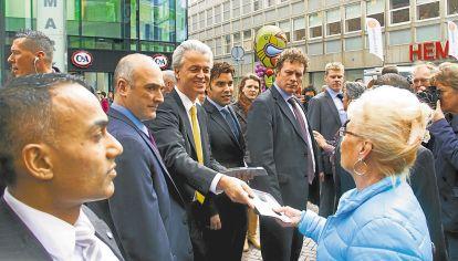 Holandes. Geert Wilders, líder del Partido por la Libertad.