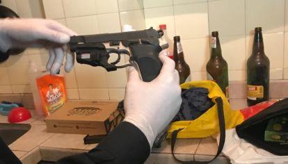 Esta podría ser el arma con la que asesinaron a Yadón.