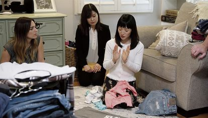 Chantada. La japonesa Marie Kondo enseña autoayuda.