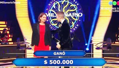 Competidores. Con la investigadora del Conicet, ¿Quién quiere ser millonario? hizo 12,9 puntos. Lo más visto fue ATAV con un episodio potente con Suárez, Vicuña y Frigerio.