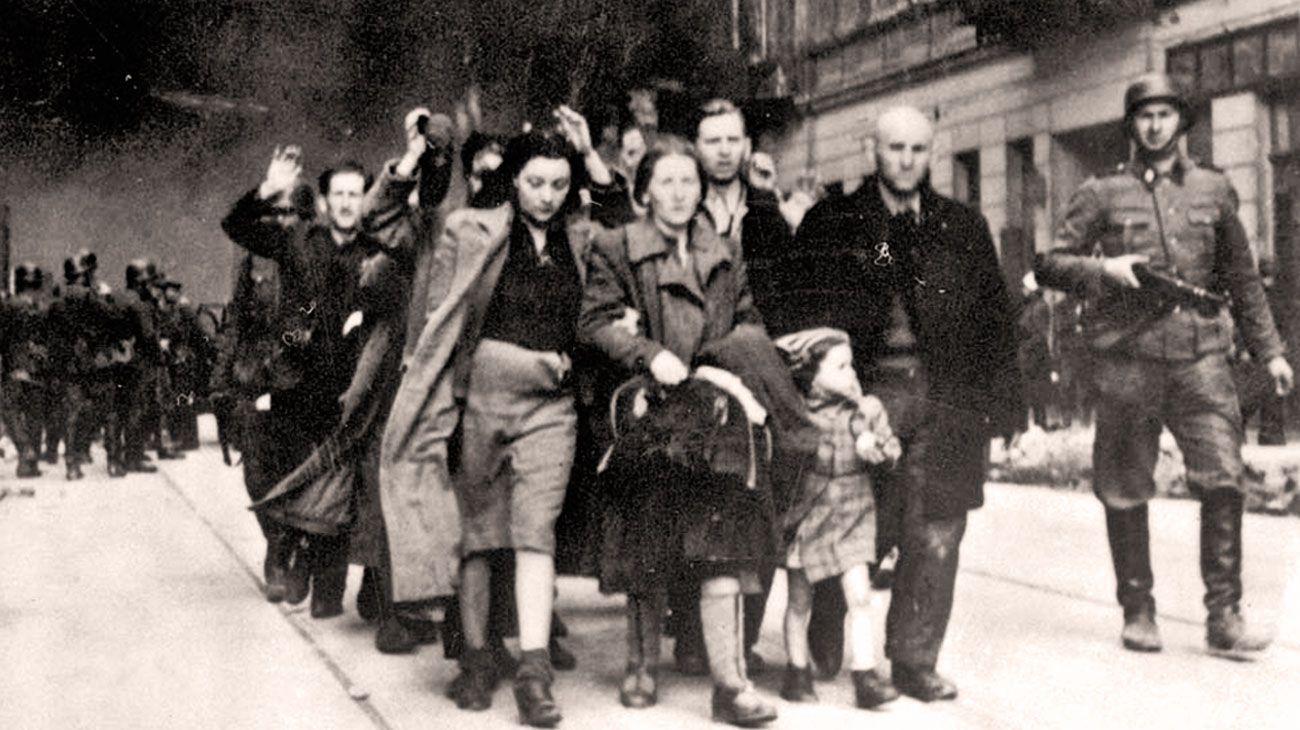 """Horror. Polonia fue uno de los escenarios más crueles de la aplicación de la """"solución final""""."""