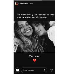 El mensaje de Toto Otero