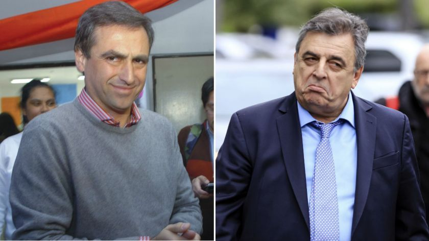 Los búnkeres de Negri y Mestre, entre la paliza electoral y el dolor por la muerte de Olivares