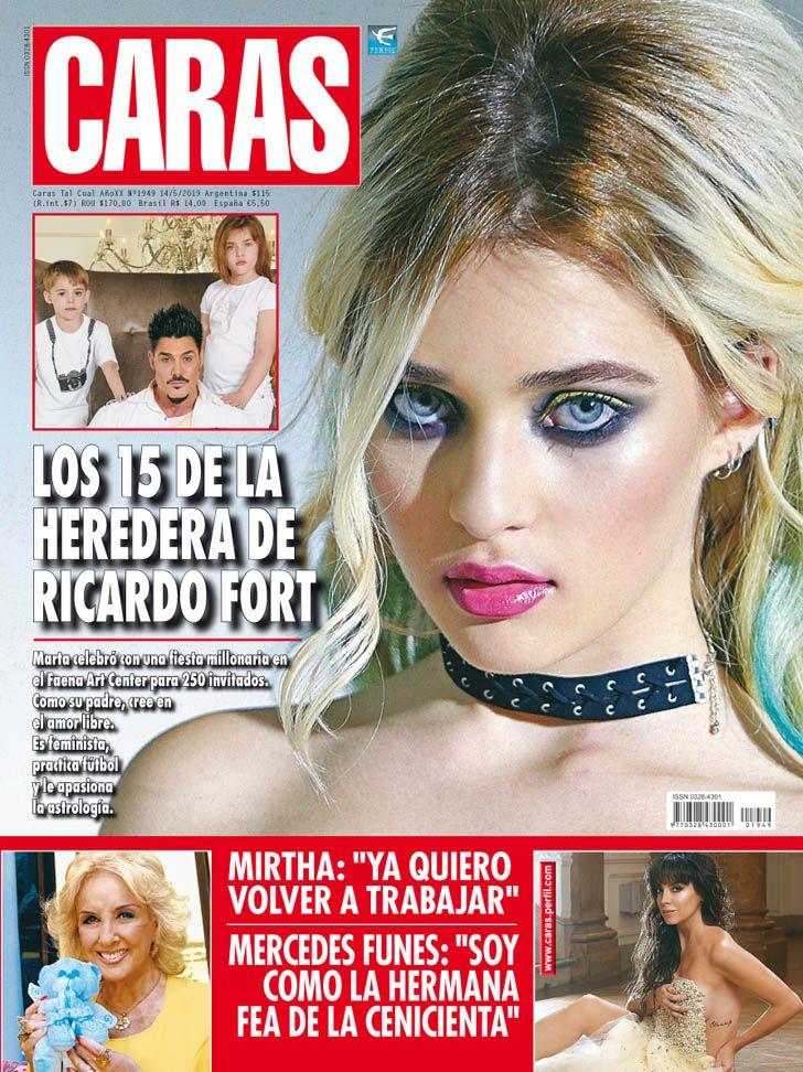 LOS 15 DE LA HEREDERA DE RICARDO FORT
