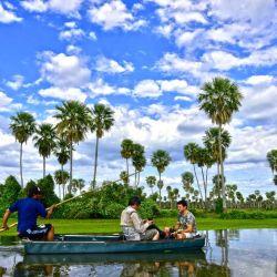 El Bañado La Estrella es el segundo humedal más grande del país.